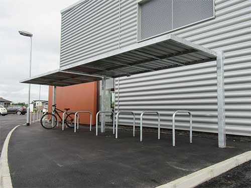 Pemberton shelter by Bollard Street, UK Street Furniture Specialists