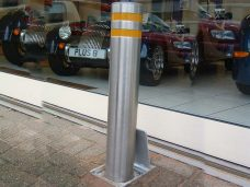 Retractable Security Bollards