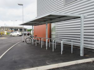 Case Study - Places Gym and new industrial units, Bamber Bridge, Preston by Bollard Street, UK Street Furniture Specialists