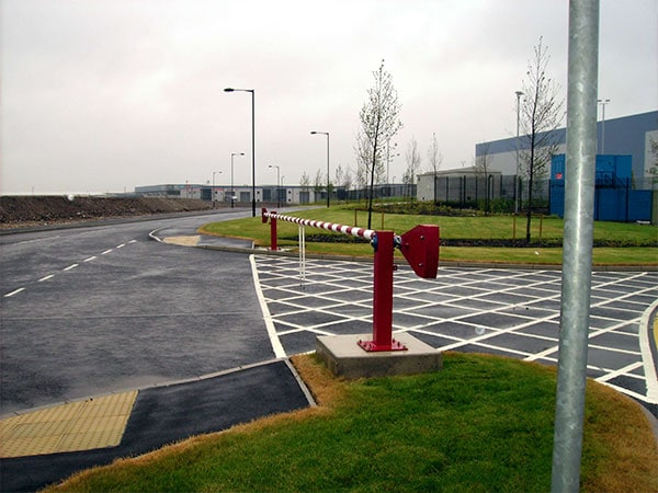 Standard duty barrier by Bollard Street, UK Street Furniture Specialists