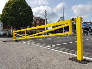 Bristol street motors case study by Bollard Street, UK Street Furniture Specialists