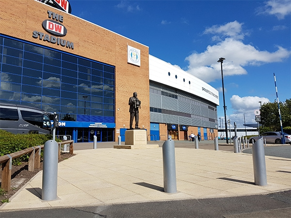 DW Case Study Wigan by Bollard Street, UK Street Furniture Specialists