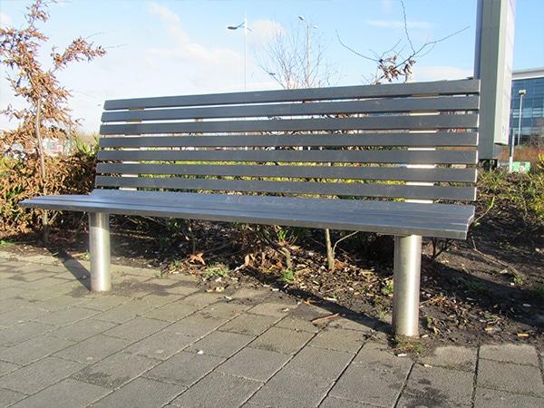 York seat by Bollard Street, UK Street Furniture Specialists
